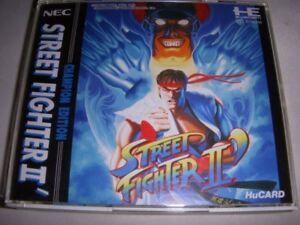 STREET FIGHTER II 2 DASH PC-Engine Japan Video Game Japanese