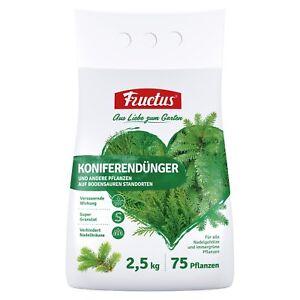Fructus-Koniferenduenger-2-5-kg-Tannenduenger-Tanne-Thuja-Koniferen-Hecken-Duenger