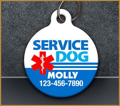 Service Dog - Pet ID Tag