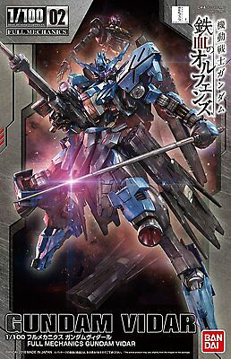 Full Mechanics Mobile Suit Gundam Iron Blood Orphans Gundam Vidal 1/100 Scale