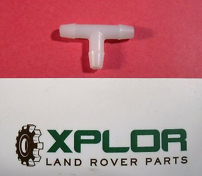 LAND ROVER SERIES and DEFENDER WINDSCREEN WASHER TUBING T PIECE OEM PRC6855