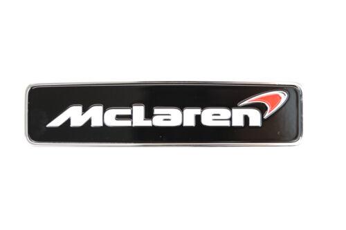 "Genuine McLaren MP4//650S//675LT//540//570//675 delantero /""McLaren/"" Bonnet Insignia-Rojo"