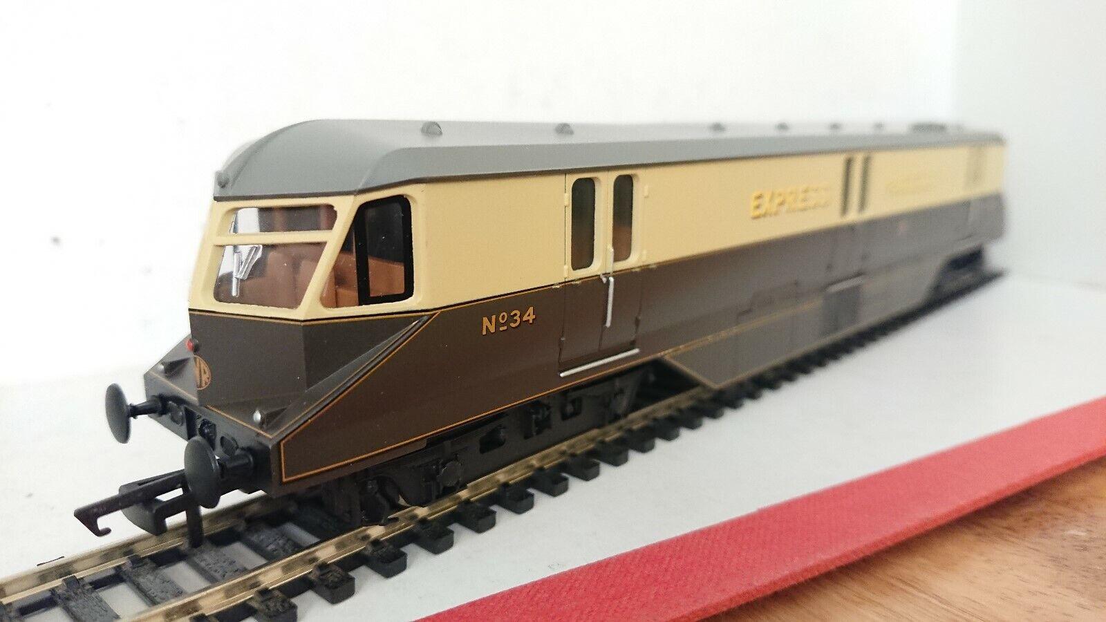 Hornby R2768 GWR Diesel Electric Parcels Railcar No. No. No.  34  DCC Ready 2dc396