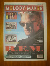 MELODY MAKER 1991 MAR 2 REM PIXIES FARM BLEACH KLF