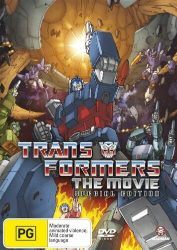 1 of 1 - Transformers - The Animated Movie (DVD, 2007, 2-Disc Set) R4 - FREE POSTAGE