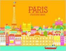 Paris Coloring Book (2014, Paperback)