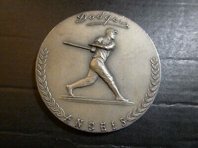 100% Kwaliteit L.a. Dodger Stadium 1962 Silver Medallic Art .999 Silver Medal