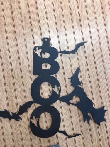 Witch Bat Boo Halloween Decor