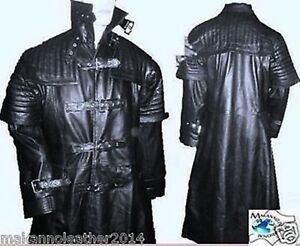 Men-039-s-Stylish-Van-Helsing-Gothic-Steam-Punk-Trench-Coat-in-Genuine-Cow-Leather