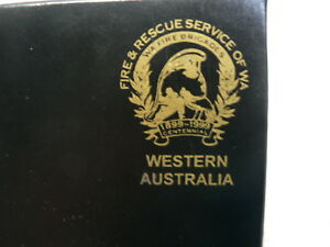 Western-Australian-Fire-And-Rescue-Service-1899-1999-Centennial-Coaster-set-of-6