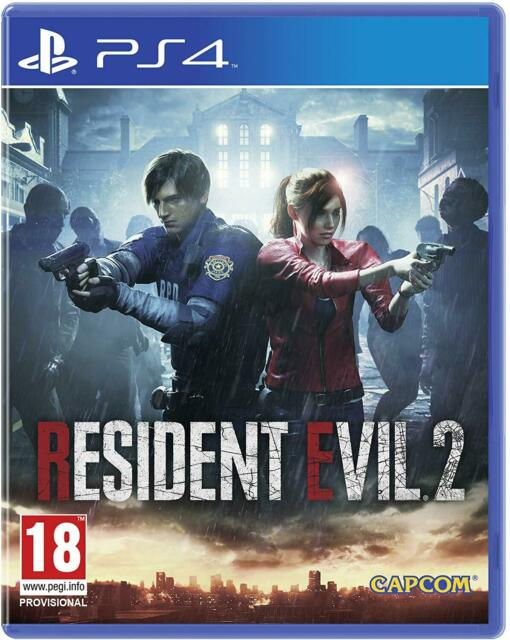 Resident Evil 2 Remake 2019 (PS4) New and Sealed