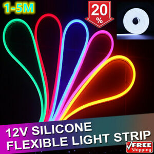 LED-Strip-12V-Neon-Flex-Rope-Light-5m-Waterproof-Flexible-Outdoor-Lighting-UK
