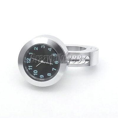 Motorcycle Handlebar Clock For Yamaha V-Star 650 950 1100 1300 Classic Stryker