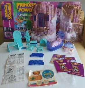Crystal Castle Princess of Power COMPLETE vintage playset MotU Mattel 1985