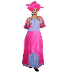 Details about  /African Clothing Style Dress For Women Embroidered Bazin 100/% Cotton X21238