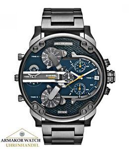 Diesel-Uhr-DZ7331-XL-Master-Mr-Daddy-2-0-Multitime-Herren-Chronograph-NEU-amp-OVP