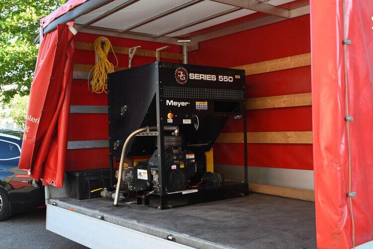 Brugt Meyer 550 isoleringsmaskine sælges - benz...