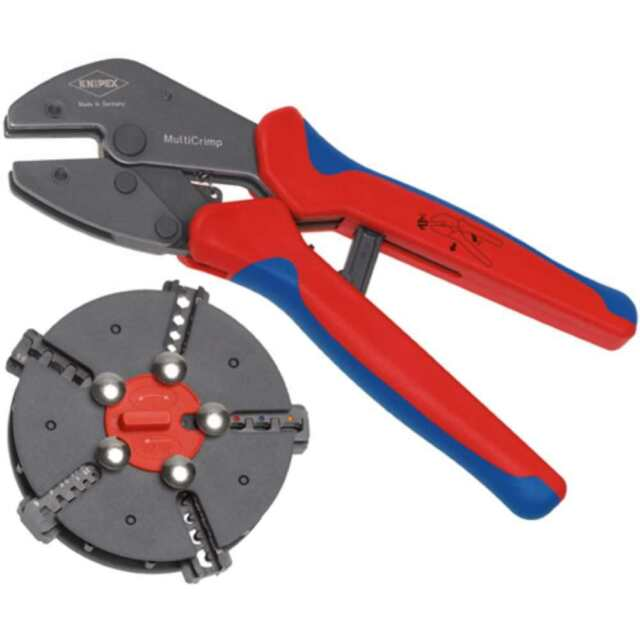 Knipex outil de sertissage MultiCrimp 97 33 02