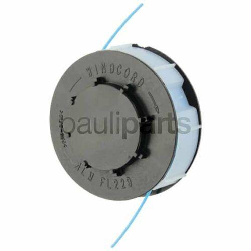 Variolux 450 RTV 1,3 mm Zweifadenspule Spule OBI // Diana Trimmerspule