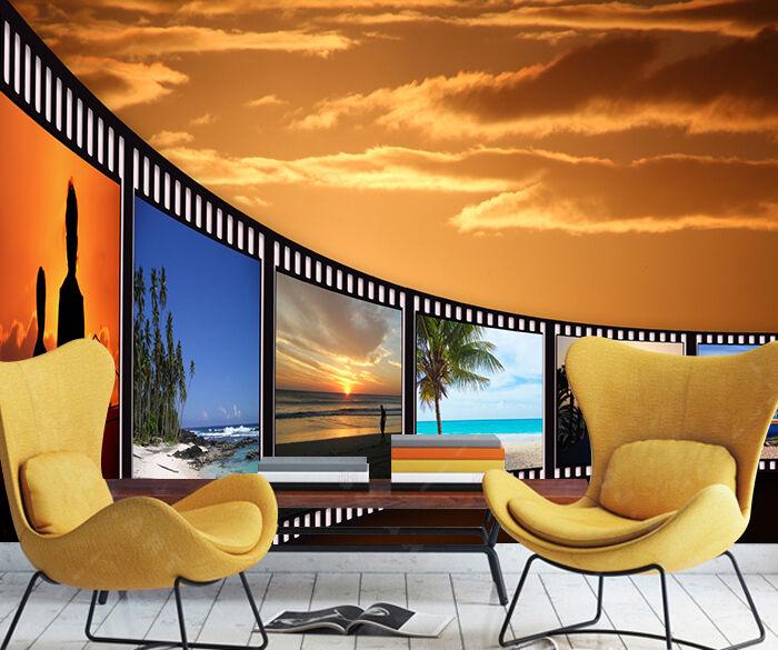3D Sky, landscape 4343 Wall Paper Print Wall Decal Deco Indoor Wall Murals