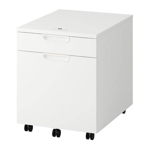 Ikea Galant Rolling Drawer Unit Drop File Storage Cabinet White For Online Ebay