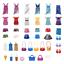 Playmobil Model Shopping Photo Shooting Clothes Hanger Handbag Accessories