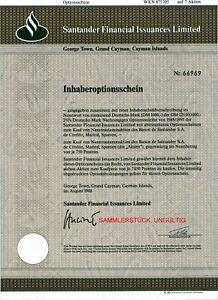 Aktiv Santander Financial Issuances Limited 7er-os 1986 Gesundheit FöRdern Und Krankheiten Heilen