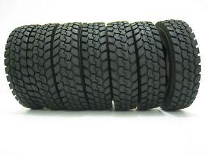 4Pcs-For-Tamiya-1-14-Tractor-Truck-Trailer-Climbing-Car-Rubber-Climbing-Tire
