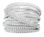 ITALIAN-SILVER-STERLING-SILVER-PAVE-CRYSTAL-TUBOGAS-RING-SIZE-6-QVC-87-00 thumbnail 2