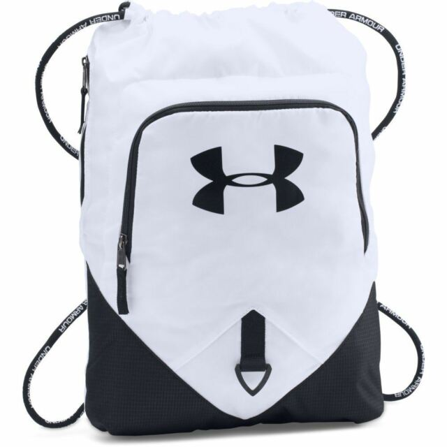 00b3c46f8c9b Under Armour 1261954 UA Undeniable Sackpack Sternum Clip White for ...