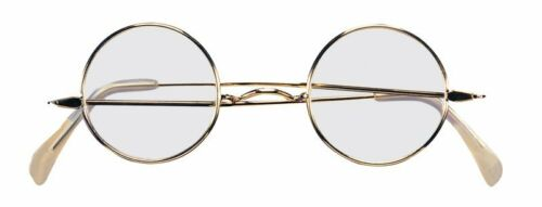 Round Eye Glasses Santa /& Mrs Claus OLD Fashioned Spectacles Franklin steampunk