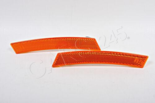 Genuine M Aero Package Front Bumper Reflectors PAIR BMW X3 E83 USA LCI 07-10