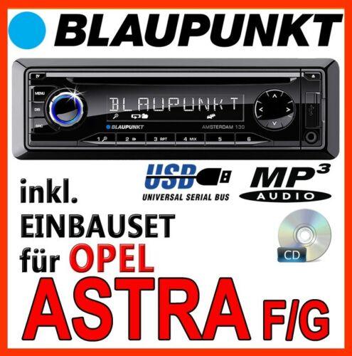 Blaupunkt autoradio para Opel Astra F /& g USB CD mp3 kit de integracion smartphone KFZ turismos
