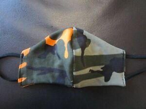Behelfsmaske Kinder camouflage neon Jersey Mundmaske Nasenmaske Gesichtsmaske - Elleben, Deutschland - Behelfsmaske Kinder camouflage neon Jersey Mundmaske Nasenmaske Gesichtsmaske - Elleben, Deutschland