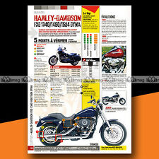 ★ HARLEY FXD 1340 1450 1584 DYNA ★ Article Moto Guide Achat Occasion #a1125