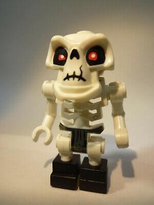 Lego weißes Skelett Mumie Mumienskelett mit Feuerwehrhelm Minifigur Neu New