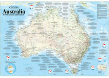 Australia Map Jigsaw.Blue Opal Adventures Dreamers Map Puzzle 1000pc Bl01882