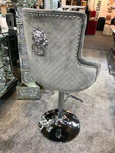 Majestic Knockerback Luxury Bar Stools Lion Knocker