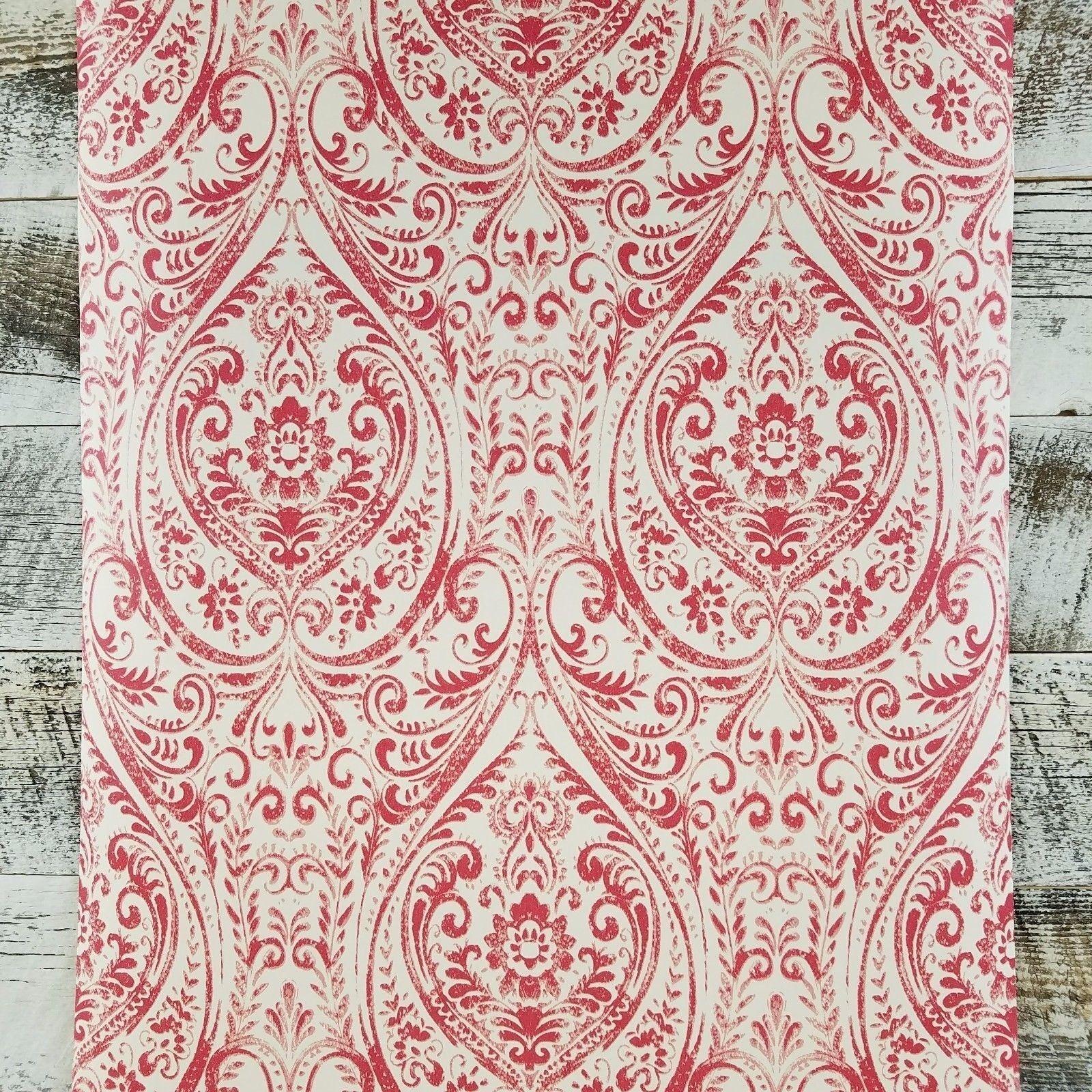 Brewster Jodhpur A Street Prints Boho Gypsy Designer Damask Albany Wallpaper DIY