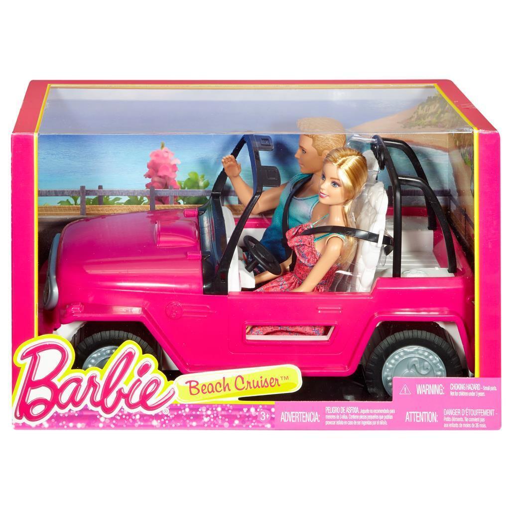 Barbie Beach Cruiser mit zwei Puppen, Barbie Auto, Barbie Puppe