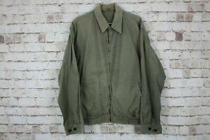 Barbour-Washed-Twill-Blouson-Jacket-size-M