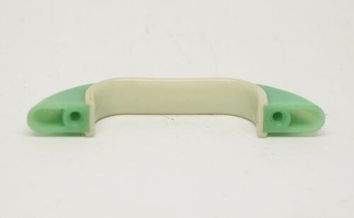 Curved Light Green Vintage Plastic Bridge Pull