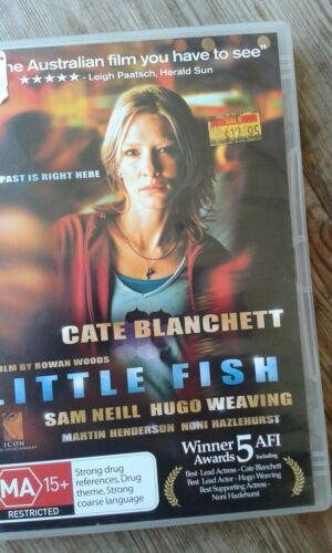 1 of 1 - Little Fish - Cate Blanchett - Dvd As new