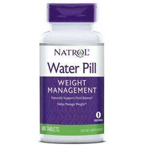 Natrol - Water Pill Weight Loss Shed Water Weight 60 Tablets Diuretic