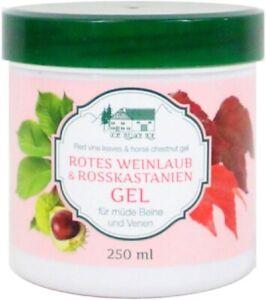 1-40-100-ml-Rotes-Weinlaub-amp-Rosskastanien-Gel-250-ml-Erholung-fuer-muede-Beine
