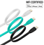 Dairle-MFi-Certified-Apple-Lightning-Data-Sync-Cable-Charger-Fr-iPhone-iPad-iPod miniature 1