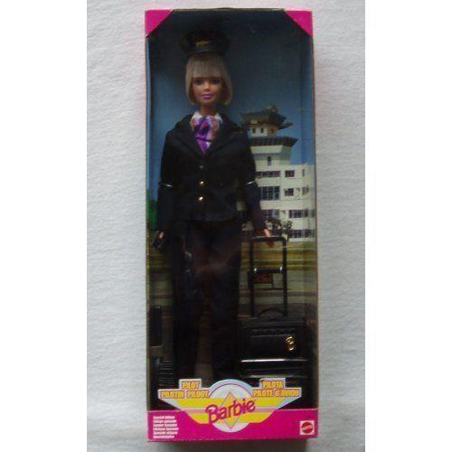 Piloto De Muñeca Barbie Coleccionable 1999 24017