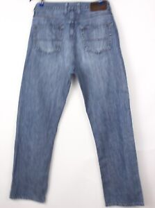 Tommy Hilfiger Hommes Jeans Jambe Droite Taille W34 L32 BCZ141