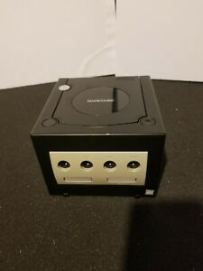 Nintendo-GameCube-Jet-Black-DOL-001-Console-ONLY-No-Cables-No-Power-Supply