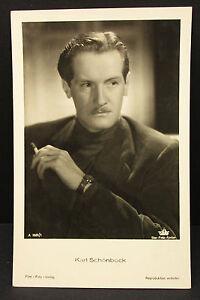 Karl-Schoenboeck-Actor-Movie-Photo-Foto-Autogramm-Karte-AK-Lot-G-9590